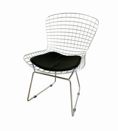 Chrome Wire Chair