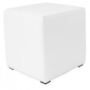 White Leather Cube  sc 1 st  Foohoo & White Leather Bar Stool | Foohoo - event furniture hire company islam-shia.org