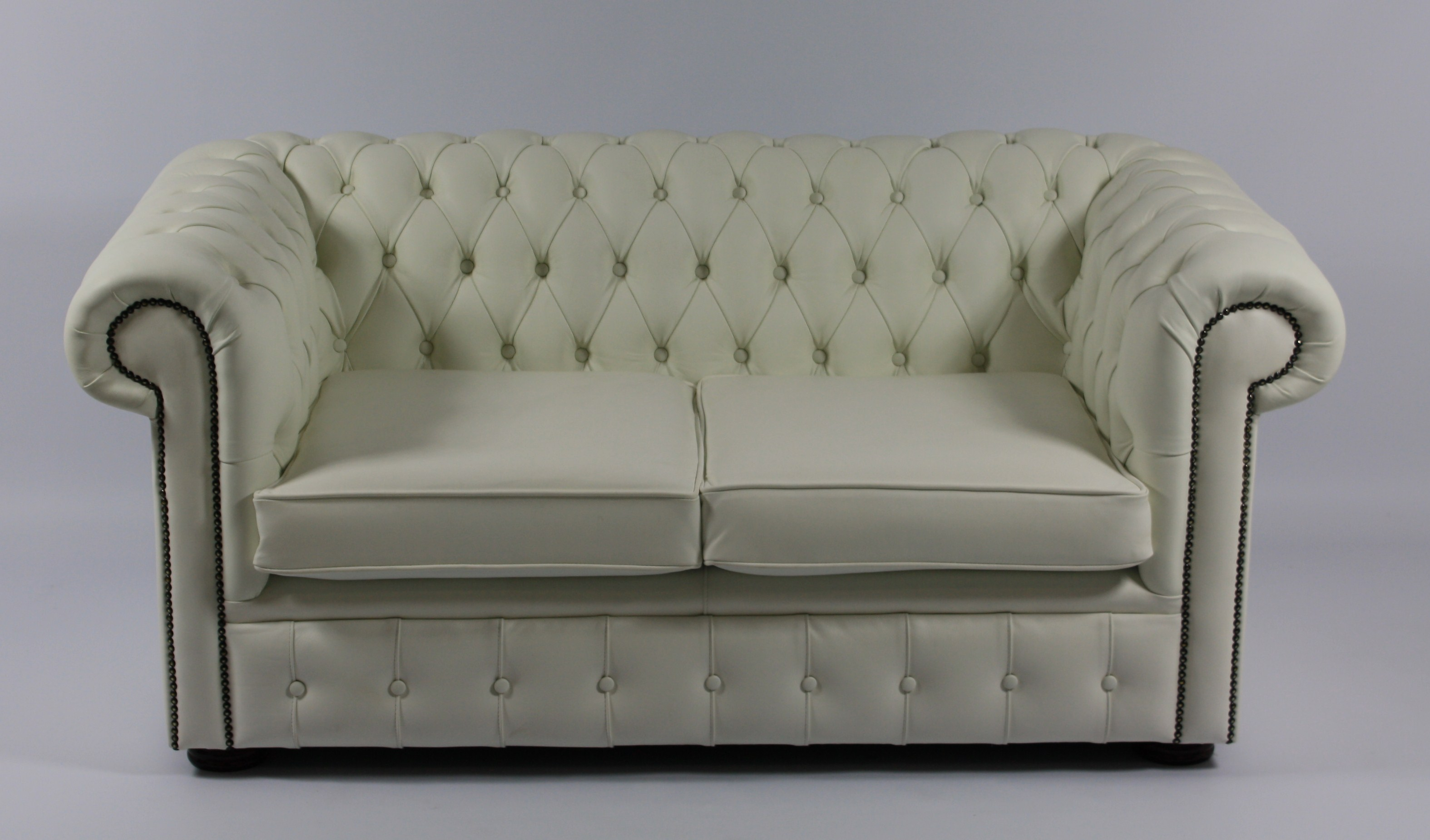 White chesterfield chair - White Chesterfield Sofa