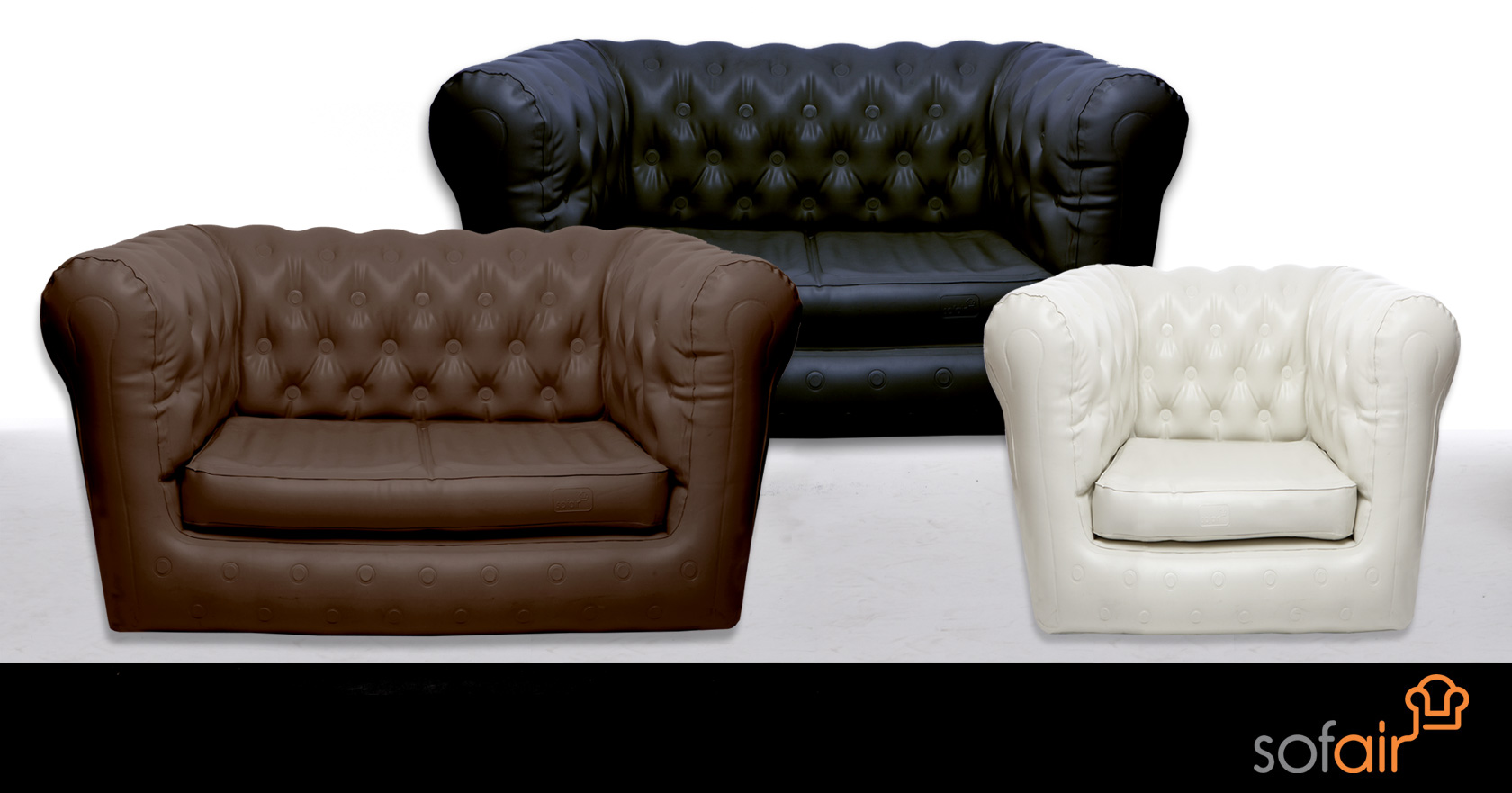 Inflatable Chesterfield Sofa S Foohoo Event Furniture Hire Company